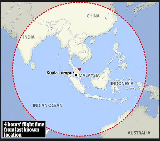flight 370 indian ocea