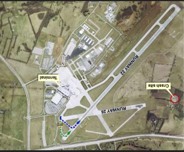 runway 26 crash site dna version