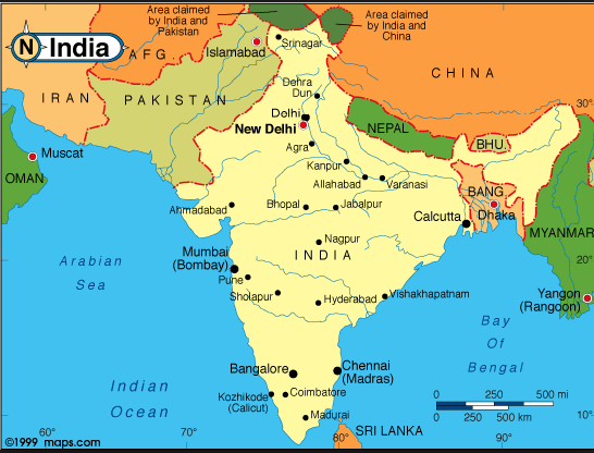 india map 999